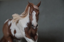 Reiner resin, scale 1:9, painted to a chestnut paint in 2015