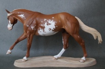 Reiner resin, scale 1:9, painted to a chestnut paint in 2016