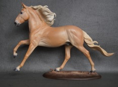 Lucius resin, scale 1:10, painted to a palomino in 2019