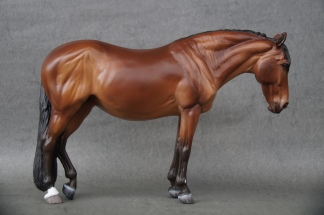 Esmeralda resin, scale 1:10, painted in 2021 to a bay
